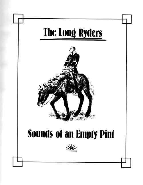 The Long Ryders - Sounds of an Empty Pint (bootleg)